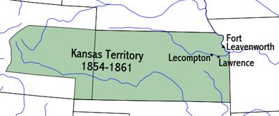 Kansas Territory 1854-1861
