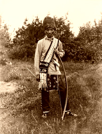 Os Ko Bos, Chippewa Man