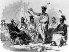 Kaw Indian Conference, 1857