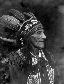 Bill Moose Crowfoot was one of the last of the Wyandot Indians to live in Ohio.