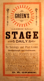 Cannonball Stage Flyer