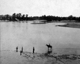 Kansas River in 1867