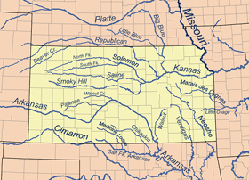 Kansas Rivers