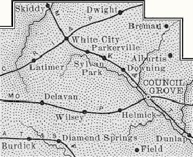 Morris County, Kansas, 1899