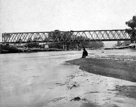 Railroad Bridge across the Republican River