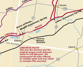Cimarron Branch of the Santa Fe Trail