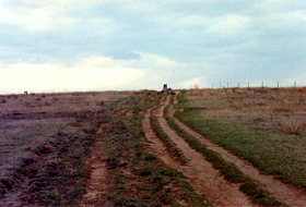 Santa Fe Trail Ruts near Dodge City, kansas
