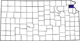 Atchison County, Kansas map