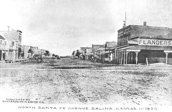 Can help a w salina kansas vintage photo