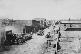Atchison, Kansas around 1860