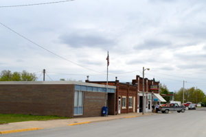 Axtell, Kansas Dowtown