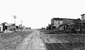 Barnard, Kansas in the early 1900s.