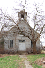 Old church in Bavaria, Kansas.