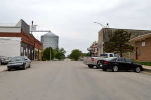 Beattie, Kansas Main Street