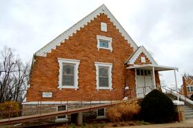 Big Springs, Kansas Church, serving since 1856