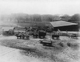 Bismarck Grove, Kansas corrals
