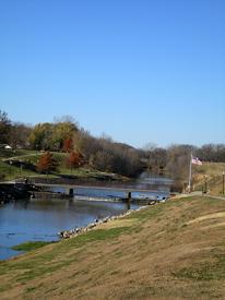 Neosho River in Council Grove