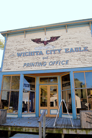 Wichita City Eagle at the Old Cowtown Museum