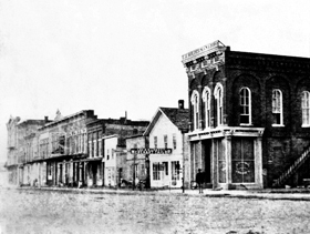 Emporia, Kansas between 1861-65