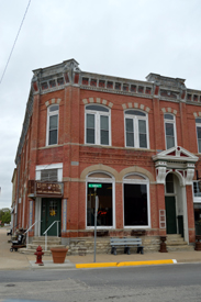 A historic building in Frankfort, Kansas
