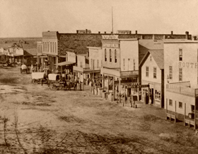 Great Bend, Kansas, 1870s
