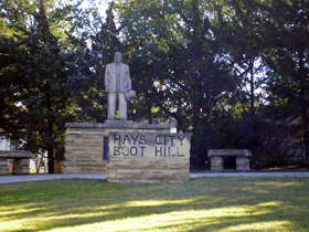 Boot Hill, Hayes, Kansas