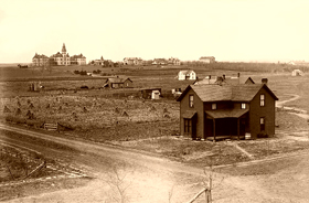 Kansas State Agricultural College, Manhattan, Kansas, 1885