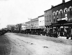Larned, Kansas around 1900