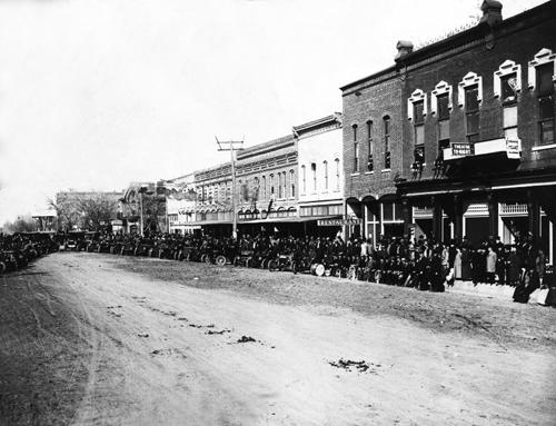 Larned Kansas History And Information