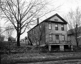 Constitution Hall in Lecompton, Kansas 1908