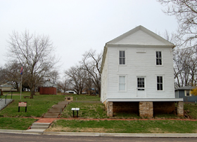 Constitution Hall in Lecompton, Kansas