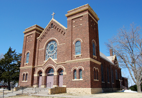St. Mary's Church, McCracken, Kansas