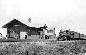 Nekoma, Kansas Depot