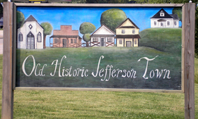 Old Jefferson Town, Oskaloosa, Kansas