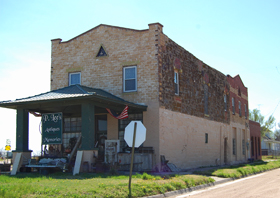 Pawnee Rock, Kansas Opera House