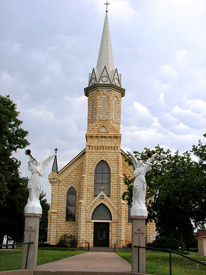 St. Catherine Catholic Church in Catherine, Kansas