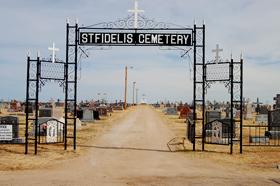 St. Fidelis Cemetery, Victoria, Kansas