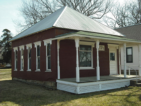 Coal Creek Library, Vinland, Kansas