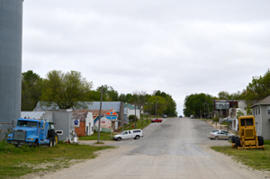 Vermillion, Kansas Main Street today