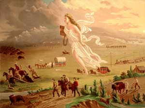 Westward Expansion by John Gast, 1872.