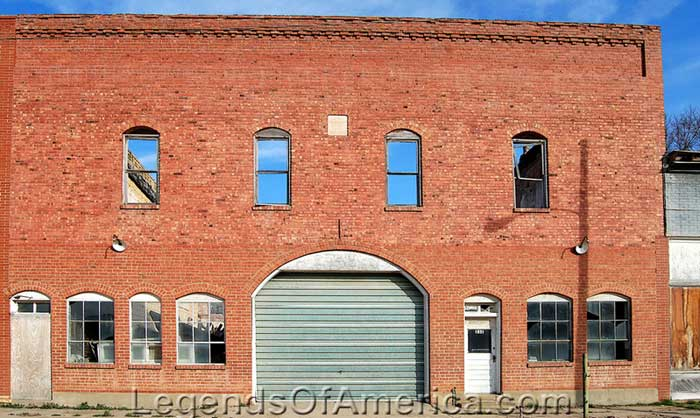 Barnard Abandoned Building