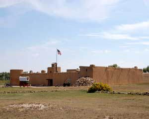 Bent's Fort Colorado by Kathy Weiser-Alexander.