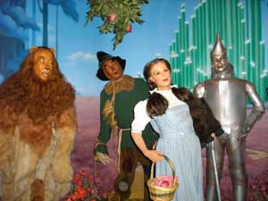 Wizard of Oz characters at the Hollywood Wax Museum in Branson, Missouri by Kathy Weiser-Alexander.