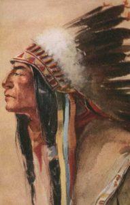 Cheyenne Chief Eagle Feather