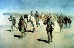 Coronado Expedition by Frederic Remington