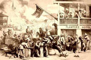 Guerilla Warfare in the Civil War by Thomas Nast, 1862