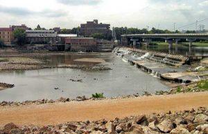 Kansas River at Lawrence