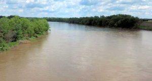 Kansas River at Topeka