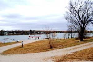 Lake Wabaunsee, Kansas by Kathy Weiser-Alexander.