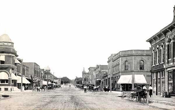 Vintage Marysville, Kansas.